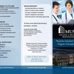 brochure, Medical University of South Carolina, College of Health Professions, MUSC, CHP, MUSC CHP, editing, layout, design
